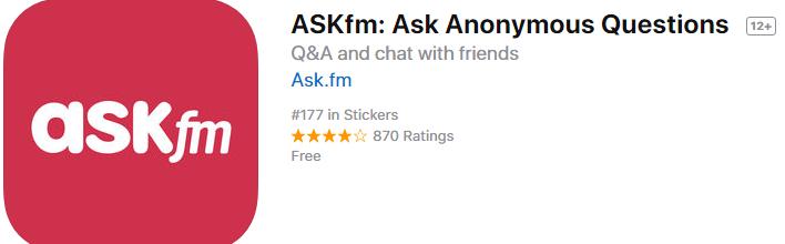 تطبيق ASKfm للاسئلة والأجوبة العامة المفيد جداً للايفون