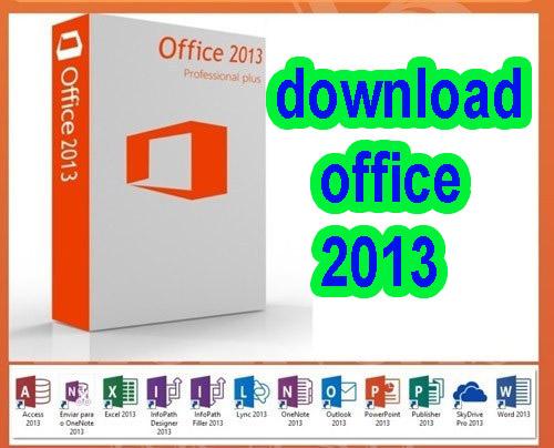 تحميل برنامج مايكروسوفت أوفيس Microsoft Office 2013 – من رابط مباشر