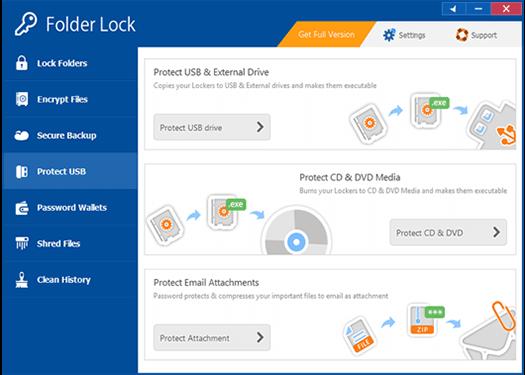 برنامج Folder Lock فولدر لوك لحماية الملفات بكلمة سر