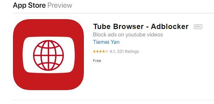 تطبيق Tube Browser لمشاهدة اليوتيوب بدون اعلانات مجانا للايفون والاندرويد