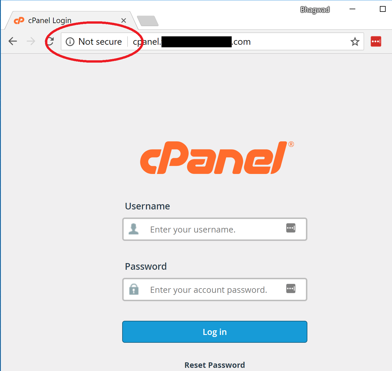 How to access the Cpanel hosting dashboard