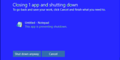 كيفية تسريع عملية Shutdown فى ويندوز 10