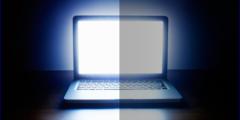 زيادة إضاءة شاشة اللاب توب ويندوز 10
