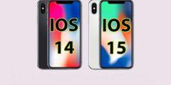 كيفية الرجوع من اصدار iOS 15 الى iOS 14